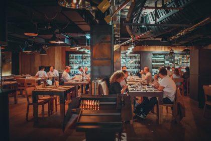 Sagardi London Restaurant Interior