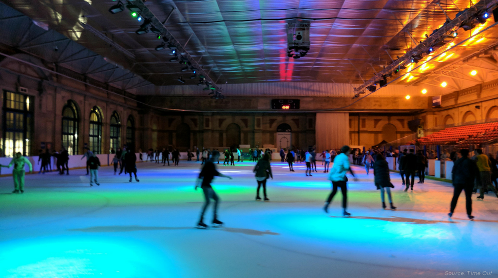Get your skates on and have a boogie at one of Alexandra Palace's Ice Disco events