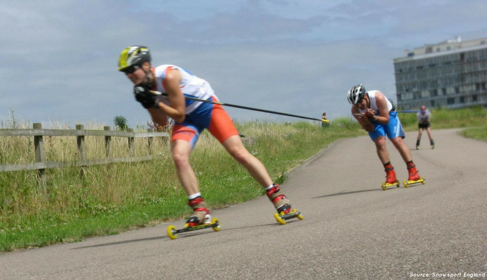 Go gliding without the ice with weekly rollerski sessions